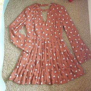 NWT Free People floral dress